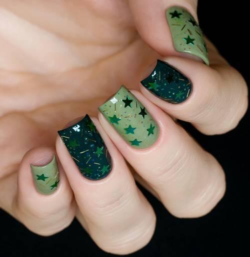 Блестка для дизайна ногтей